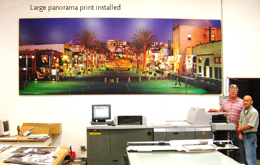 1998 16ft Long Panorama Print