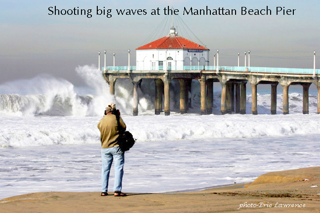 John Post Shooting Crashing Wave December 2005