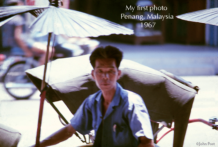 My First Photo Taken With My First SLR Penang Malaysia 1967 (c)johnpost