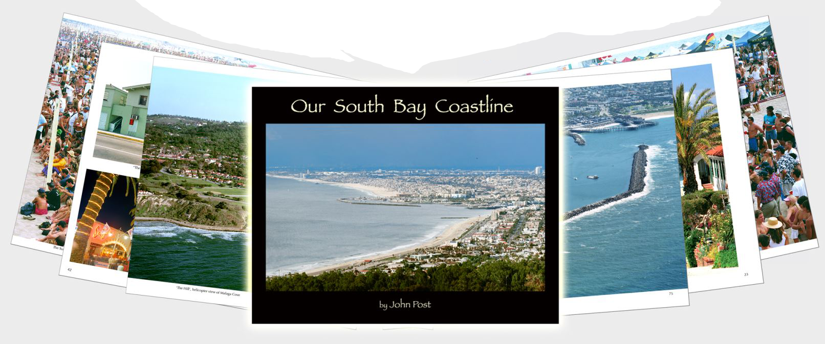 Our South Bay Coastline Cover with Selected Images